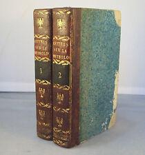 DEMOUSTIER / LETTRES A EMILIE SUR LA MYTHOLOGIE / 1803 RENOUARD gravures