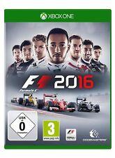 F1 2016  (Formel Eins 16)        XBOX One      XB-One      !!!!! NEU + OVP !!!!!