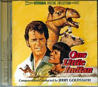 """Jerry Goldsmith """"ONE LITTLE INDIAN"""" score Intrada 3000 Ltd CD sold out SEALED"""