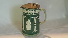 Dudson green ceramic vintage Victorian antique classical design jug / pitcher