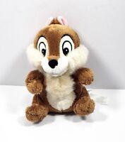 "Disney Store Chip Rescue Rangers Chip & Dale Plush Chipmunk 7"" Stuffed Animal"