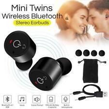 Mini TWS Twins True In-Ear Sans Fil Stéréo Bluetooth Écouteurs Écouteurs Casque