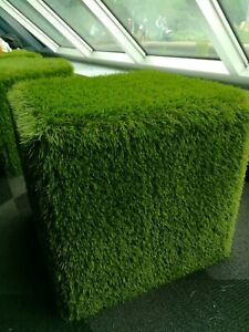 Green grass chair