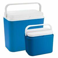 LEX 2er Set Kühlbox 24 L und 10 L Thermobox Warmhaltebox Picknick Camping