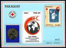 Paraguay MiNr. Block 457 postfrisch/ MNH Rotes Kreuz/ Dunant (R5773