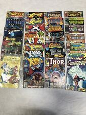 COMIC BOOK LOT! 27 MARVEL DC COMICS SPIDER-MAN X-MEN SUPERMAN SPAWN THOR X-FORCE