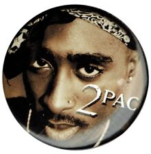 Official 2pac Tupac Shakur  1.5 inch Button pin badge