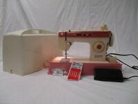 Vintage Singer Merritt 2404 Sewing Machine Foot Pedal & Case EXCELLENT COND (WW)