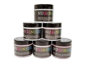 NUGENESIS- Dip Dipping Powder PINKS & WHITES - 1.5oz/jar - Choose your Colors