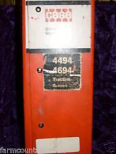 Case 4494 & 4694 Tractors Service Manual