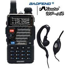2018 Baofeng x Misuta UV-5R Dual Band UHF/VHF Two Way Ham FM Radio + Earpiece US