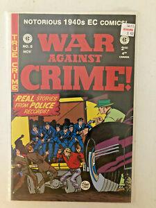 War Against Crime! #8 VF/NM EC Comics Reprint 2000