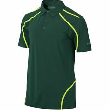 NEW Men's Columbia Golf Omni Wick Cut Away Polo Green Size Small