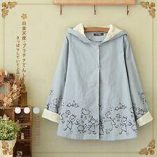 Brand New Korean Style Hoodie Outwear Jacket Cardigan Sweatshirt Top XS