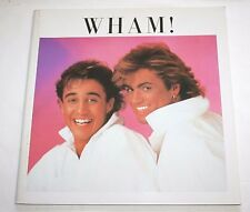 Wham! Official Japan Tour Program 1985 George Michael  Andrew Ridgeley