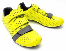 Rapha Climber's Men Road Bike Cycling Shoes Lightweight EU 43.5 US 10 Yellow