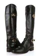 c198736a091f Authentic TORY BURCH ELOISE Dark Brown Leather Knee High Boots Sz. 6.5 M  Defect