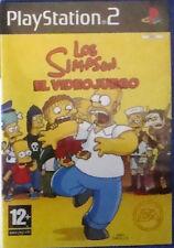PS2: Los Simpsons, El Videojuego. Original. Completo