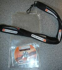 CHAMPCAR Credential Ticket Holder Lanyard MINI CD Indianapolis Indy 500 MUSTANG