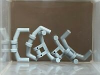 gris, grey 4 x LEGO 98397 Guidon Poignées Handlebars With handles NEUF NEW