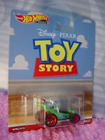 Disney Pixar TOY STORY RC CAR ☆green/blue;Real Riders☆2019 Hot Wheels Premium P