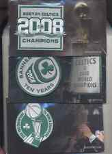 Boston Celtics embroidered Patchs 10th Anniversary  2008 championship  FIRST 3