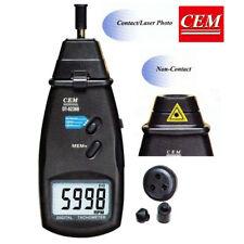 Digital Contact Non-contact Laser Photo Tachometer CEM Dt-6236b