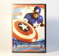 Captain America (DVD, 2011) Brand New Factory Sealed! Re-Released 1992 Edition
