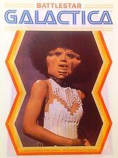 Original 1978 Battlestar Galactica Hot Peel Iron On Transfer Black Woman