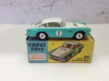 Corgi Toys 309 Aston Martin competencia Modelo En Caja Todo Original