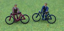 OO/HO gauge Painted Cyclists - P&D Marsh PDZ08 free post F1