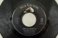 1960's Michel Landon - Pop RCA 45 RPM - Linda Is Lonesome/Without You B2