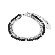 s.Oliver Damen Armband 2018347 mehrreihig aus Edelstahl