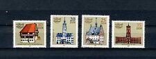 1983 Satz  postfrisch Mi-Nr.   2775 - 2778  Historische Rathäuser