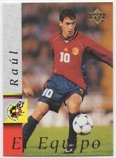 1998-#20-RAUL-SPAIN-ESPANOLA-UPPER DECK CARD-EQUIPO-1998 WORLD CUP-REAL MADRID