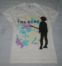 The Cure Boys Don't Cry White Concert T-Shirt 1980s Beach Party Tour Size Small