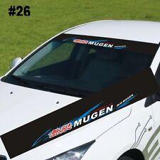 "Reflective MUGEN Windshield Banner Decal Racing Car Sticker 51""X8.25"""
