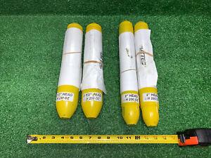 """4 QTY! BULK LOT- OZTEC H250OZ Steel Head for Concrete Vibrator 2.5"""" & 2"""" H200OZ"""