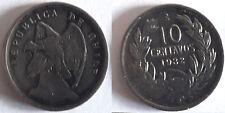 Chili 10 centavos 1932 Chile