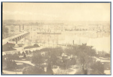 Schweiz, Genève, Panorama  vintage albumen print Tirage albuminé  10x16  C