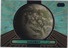 STAR WARS GALACTIC FILES SERIES 2 BLUE PARALLEL #685 PLANET DAGOBAH 097/350