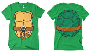 Officially Licensed Teenage Mutant Ninja Turtles Costume Men's T-Shirt S-XXL