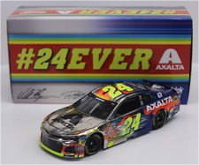 NEW 2018 JEFF GORDON WILLIAM BYRON #24 AXALTA 24EVER COLOR CHROME 1/24 CAR