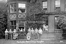 Ztr-85 WWI,Harlesden Red Cross Hospital, Norfolk. Photo