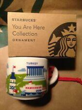 Starbucks Türkei Ornament Teelöffel YAH Mini Mug TÜRKEI 2019 You are here 2oz