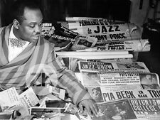 SAMMY PRICE Boogie-Woogie JAZZ Jump Blues Pia Beck Presse PIANISTE Photo 1950s
