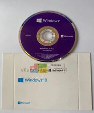 NEW WINDOWS 10 PRO Win10 Professional 64 Bit DVD & Product Licence Key