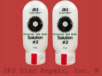 2- 4oz Advanced Solution Compound #2 White JFJ Easy Pro Single Double Disc (8oz)