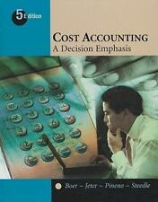 Cost Accounting: A Decision Emphasis ~ Jeter, Debra,Boer, Germain