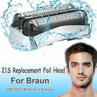 Replace Parts Foil Head for Braun Shaver Razor Series 3 Wet Dry 3040 3080 S3